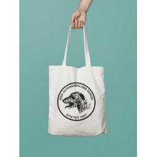 Bærenett med ulvehundklubbens logo