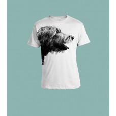 T-skjorte sort hode